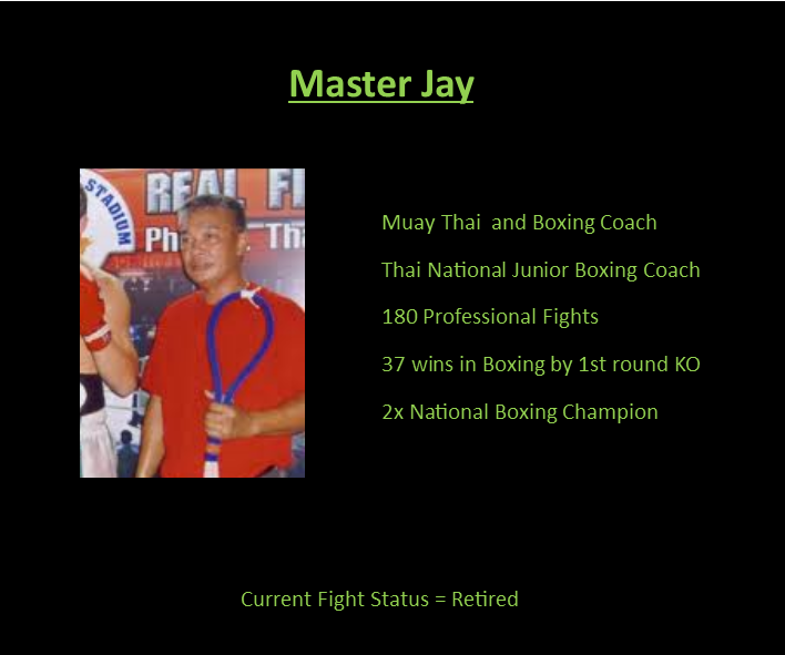 Master Jay Muay Thai and Boxing Coach