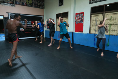 Beginners Muay Thai Camp Class